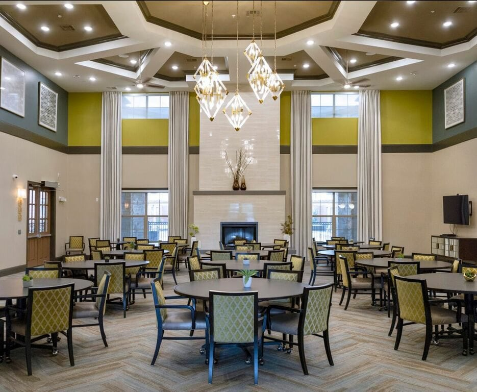 Evergreen Rowlett Dining Room